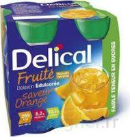 DELICAL BOISSON FRUITEE Nutriment édulcoré orange 4Bouteilles/200ml à QUINCAMPOIX