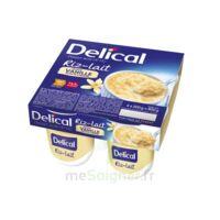 DELICAL RIZ AU LAIT Nutriment vanille 4Pots/200g à QUINCAMPOIX