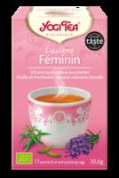 YOGI TEA EQUILIBRE FEMININ à QUINCAMPOIX