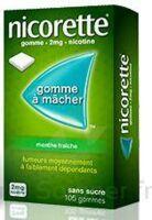 NICORETTE 2 mg Gom à mâcher médic sans sucre menthe fraîche Plq/30gom à QUINCAMPOIX