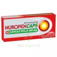NUROFENCAPS 400 mg Caps molle Plq/10 à QUINCAMPOIX