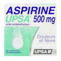 ASPIRINE UPSA 500 mg, comprimé effervescent à QUINCAMPOIX