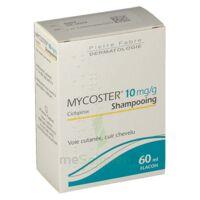 MYCOSTER 10 mg/g Shampooing Fl/60ml à QUINCAMPOIX