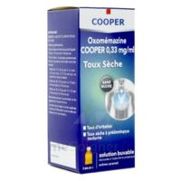 OXOMEMAZINE H3 SANTE 0,33 mg/ml SANS SUCRE, solution buvable édulcorée à l'acésulfame potassique à QUINCAMPOIX