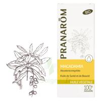 PRANAROM Huile végétale bio Macadamia 50ml à QUINCAMPOIX