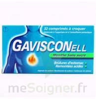 GAVISCONELL Coprimés à croquer sans sucre menthe édulcoré à l'aspartam et à l'acésulfame potas Plq/24 à QUINCAMPOIX