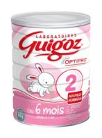 GUIGOZ 2 Lait pdre B/800g à QUINCAMPOIX