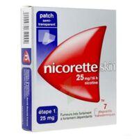 Nicoretteskin 25 mg/16 h Dispositif transdermique B/28 à QUINCAMPOIX