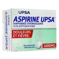 ASPIRINE UPSA TAMPONNEE EFFERVESCENTE 1000 mg, comprimé effervescent à QUINCAMPOIX