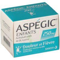 ASPEGIC ENFANTS 250, poudre pour solution buvable en sachet-dose à QUINCAMPOIX