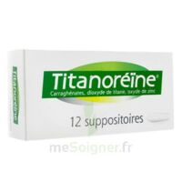 TITANOREINE Suppositoires B/12 à QUINCAMPOIX