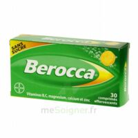 Berocca Comprimés effervescents sans sucre T/30 à QUINCAMPOIX