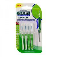 GUM TRAV - LER, 1,1 mm, manche vert , blister 4 à QUINCAMPOIX