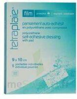 Tetraplaie Film Pansement adhésif stérile film PU 9x10cm B/5 à QUINCAMPOIX
