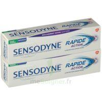Sensodyne Rapide Pâte dentifrice dents sensibles 2*75ml à QUINCAMPOIX