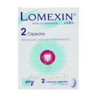 Lomexin 600 Mg Caps Molle Vaginale Plq/2 à QUINCAMPOIX
