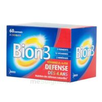 Bion 3 Défense Junior Comprimés à croquer framboise B/60 à QUINCAMPOIX