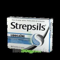 Strepsils lidocaïne Pastilles Plq/24 à QUINCAMPOIX