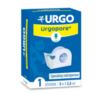 Urgopore Géant Sparadrap 2,5cmx9,14m Dévidoir à QUINCAMPOIX
