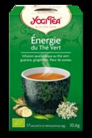 Yogi Tea Thé énergie du thé vert bio 17 Sachets à QUINCAMPOIX