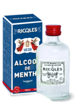 Ricqles 80° Alcool De Menthe 100ml à QUINCAMPOIX