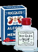 Ricqles 80° Alcool de menthe 30ml à QUINCAMPOIX