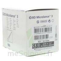 BD MICROLANCE 3, G22 1 1/2, 0,7 m x 40 mm, noir  à QUINCAMPOIX