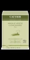 Cattier Argile Poudre concassée verte 3kg à QUINCAMPOIX