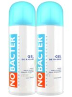 Nobacter Gel de rasage peau sensible 2*150ml à QUINCAMPOIX