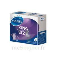 Manix King Size Préservatif avec réservoir lubrifié confort B/3 à QUINCAMPOIX