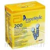 Freestyle Papillon Lancettes B/200 à QUINCAMPOIX