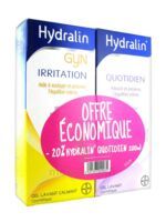 Hydralin Quotidien Gel lavant usage intime 200ml+Gyn 200ml à QUINCAMPOIX