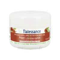 Natessance Argan Masque capillaire nutrition anti-âge 200ml à QUINCAMPOIX