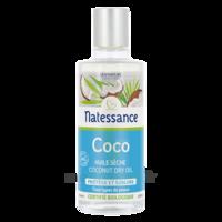 Natessance Huile Coco bio 100% pure 100ml à QUINCAMPOIX