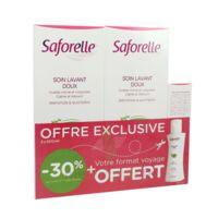 Saforelle Solution soin lavant doux 2*500ml+100ml à QUINCAMPOIX