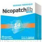 NICOPATCHLIB 14 mg/24 h Dispositifs transdermiques B/28 à QUINCAMPOIX