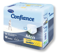 Confiance Men Slip absorbant jetable absorption 5 Gouttes Medium Sachet/14 à QUINCAMPOIX