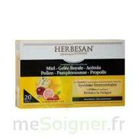 Herbesan Système Immunitaire 30 Ampoules à QUINCAMPOIX