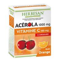 Herbesan Acérola 1000 Comprimés à croquer orange B/30