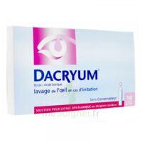 DACRYUM S p lav opht en récipient unidose 10Unid/5ml à QUINCAMPOIX