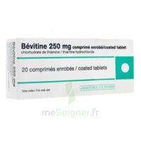 BEVITINE 250 mg Cpr enr Plq/20 à QUINCAMPOIX