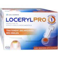LOCERYLPRO 5 % V ongles médicamenteux Fl/2,5ml+spatule+30 limes+lingettes à QUINCAMPOIX