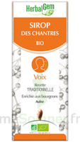 Herbalgem Sirop Bio Des Chantres 150ml à QUINCAMPOIX