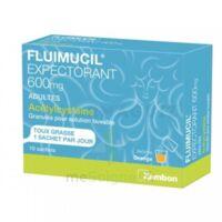 Fluimucil Expectorant Acetylcysteine 600 Mg Glé S Buv Adultes 10sach à QUINCAMPOIX