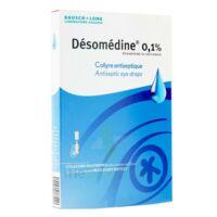 Desomedine 0,1 % Collyre Sol 10fl/0,6ml à QUINCAMPOIX