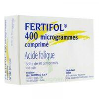 Fertifol 400 µg Cpr Plq/90 à QUINCAMPOIX