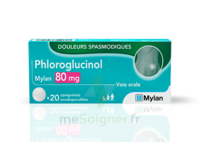 PHLOROGLUCINOL MYLAN 80 mg, comprimé orodispersible à QUINCAMPOIX