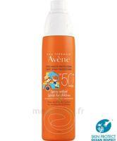 Avène Eau Thermale Solaire Spray Enfant 50+ 200ml à QUINCAMPOIX