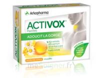 Activox Sans Sucre Pastilles Miel Citron B/24 à QUINCAMPOIX