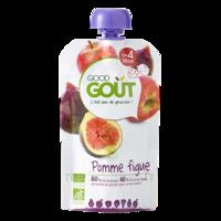 Good Goût Alimentation infantile pomme figue Gourde/120g à QUINCAMPOIX